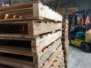 Quy trinh sản xuất pallet gỗ